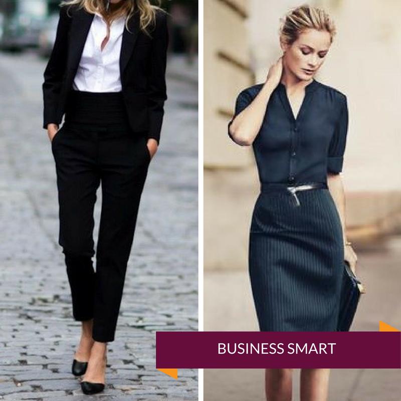 dress code business casual kobieta