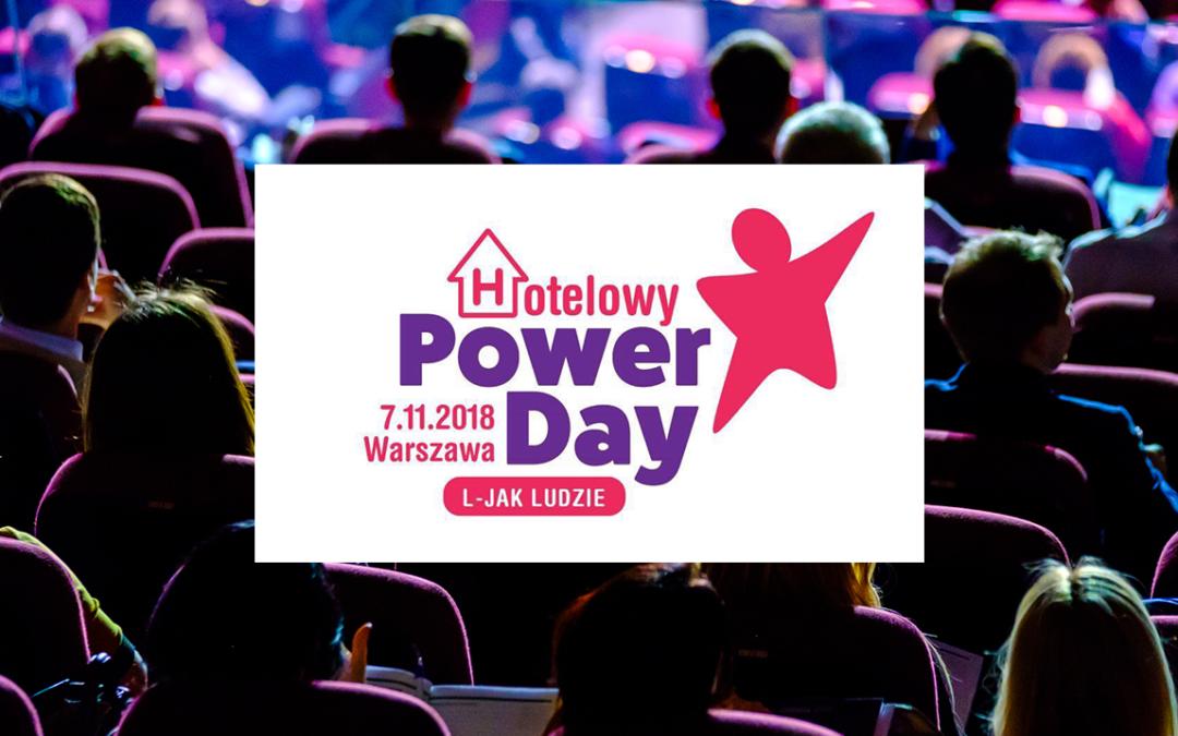 Konferencja dla hotelarzy Hotelowy Power Day. L jak ludzie [POZNAJ SZCZEGÓŁY]