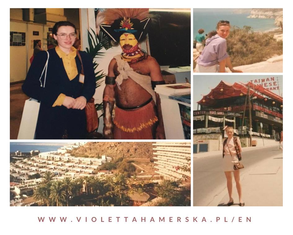 Pocztówka z początków mojej pracy w turystyce i hotelarstwie